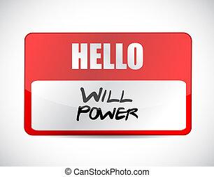 concepto, nombre, potencia, señal, voluntad, etiqueta