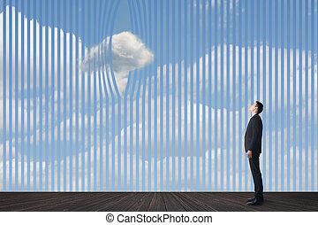 concepto, nubes