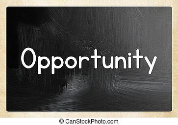 concepto, oportunidad