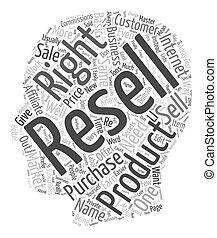 concepto, oro, derechos, texto, mina, wordcloud, plano de...