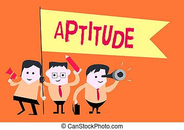 concepto, palabra, capacidad, empresa / negocio, texto, natural, escritura, algo, talento, habilidad, perforanalysisce, aptitude., tendencia