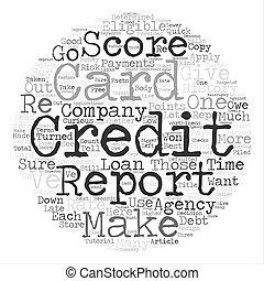 concepto, palabra, eligibility, texto, tarjeta de crédito, ...