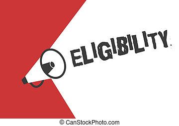 concepto, palabra, empresa / negocio, texto, eligibility., ...