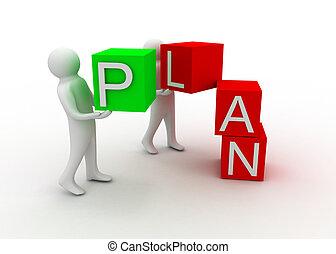 concepto, plan