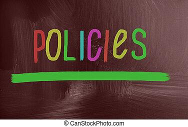 concepto, policies