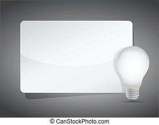 concepto, presentación, idea, plantilla