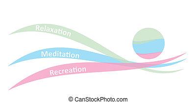 concepto, relajación