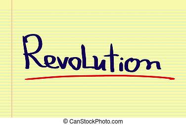 concepto, revolución