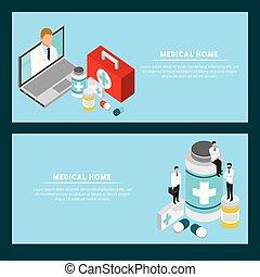 concepto, salud, digital