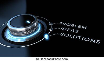 concepto, solución