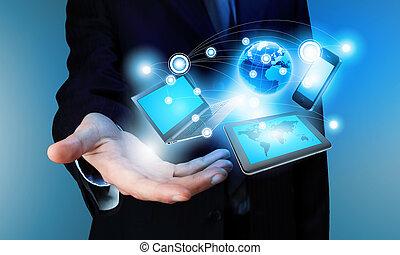 concepto, tecnología