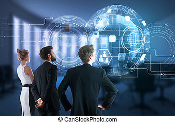 concepto, tecnología, innovación