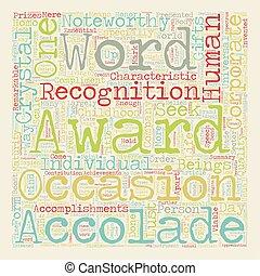 concepto, texto, wordcloud, premios, plano de fondo, 101, ...