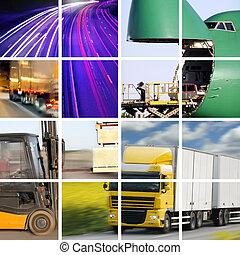 concepto, transporte