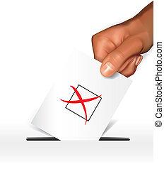 concepto, votación