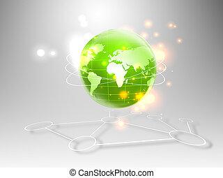 concepts, business, internet, série, mieux, global, concept