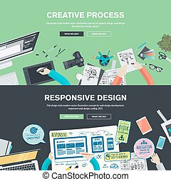 Concepts for graphic and web design