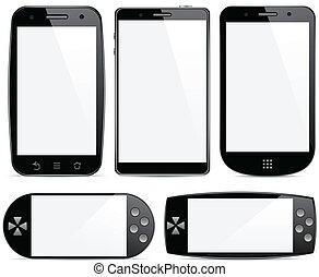 concepts., smartphone, ensemble