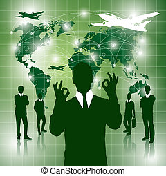 Conceptual Business Background new 20