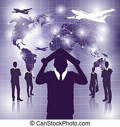 Conceptual Business Background new 21
