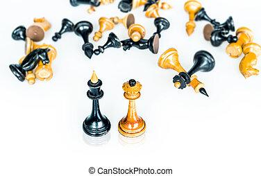 conceptual chess ending; perpetual check
