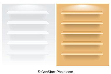Shelves Vectors