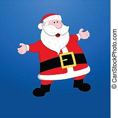 Santa Christmas Vector Illustration