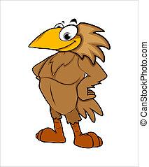 Bird Mascot Vector