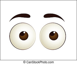 Innocent Cartoon Eye
