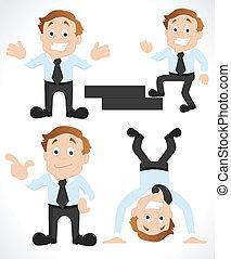 Conceptual Design Art of Salesman Vectors