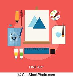 conceptual, diseño, arte, multa