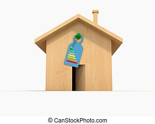 ecological wood house