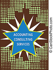 Conceptual hand writing showing Accounting Consulting Services. Business photo text Preparation of Periodic Financial Statements