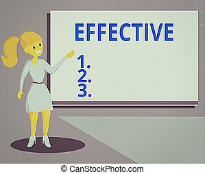 Conceptual hand writing showing Effective. Concept meaning equal to the rate of simple interest that yields the same amount Wo analysis Presenting Audio Visual Blank Projector Screen