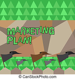 Conceptual hand writing showing Marketing Plan. Business photo showcasing Business Advertising Strategies Market Successful Ideas.