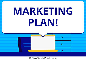 Conceptual hand writing showing Marketing Plan. Business photo text Business Advertising Strategies Market Successful Ideas.
