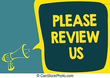 Can you please write a review