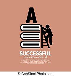 Conceptual Ideas Of Successful.