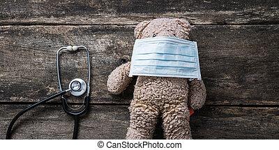 Conceptual image of pediatric health care