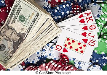 conceptual, póker, imagen
