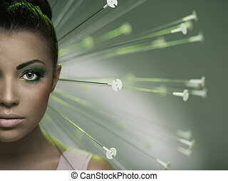 conceptual picture of a woman