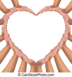 Conceptual symbol of love.