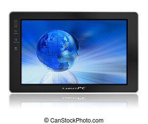 Conceptual tablet PC
