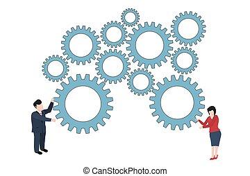 Conceptual trade vector