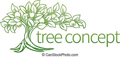 Conceptual Tree Icon