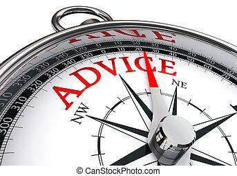 conceptueel, raad, beeld, kompas