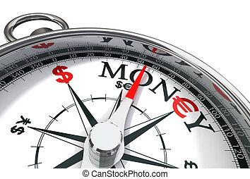 conceptuel, argent, image, manière