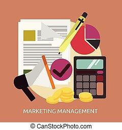 conceptuel, commercialisation, gestion, conception, illustration