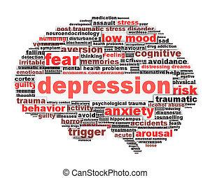 conceptuel, conception, dépression