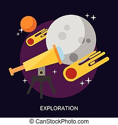 conceptuel, exploration, conception, illustration